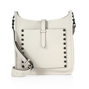 Rebecca Minkoff Unlined Leather Feed Bag White